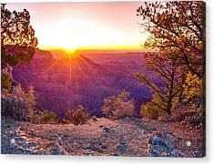 Grand Canyon Sunrise Acrylic Print
