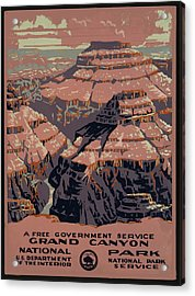 Grand Canyon Acrylic Print by Unknown