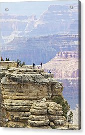 Acrylic Print featuring the photograph Grand Canyon Vista by Chris Dutton