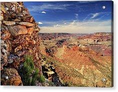 Grand Canyon Wall Acrylic Print