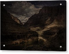 Acrylic Print featuring the photograph Grand Canyon - West Rim by Ryan Photography
