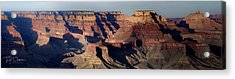 Grand Canyon Wide Acrylic Print