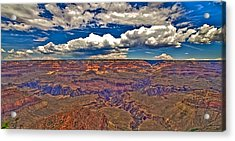 Grand Canyon Acrylic Print by William Wetmore