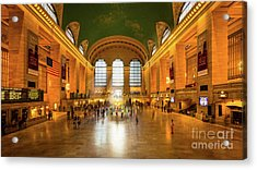 Grand Central Acrylic Print by Inge Johnsson