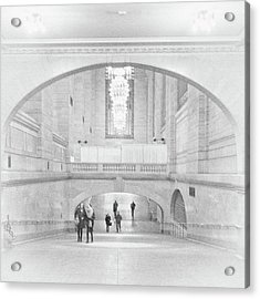 Acrylic Print featuring the photograph Grand Central Station by Lora Lee Chapman