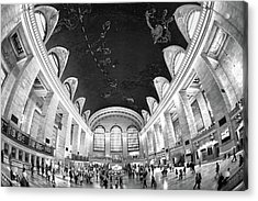 Acrylic Print featuring the photograph Grand Central Station by Mitch Cat