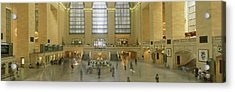 Grand Central Station New York Ny Acrylic Print by Panoramic Images