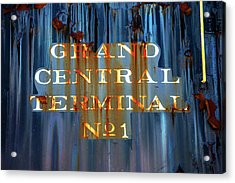 Acrylic Print featuring the photograph Grand Central Terminal No 1 by Karol Livote