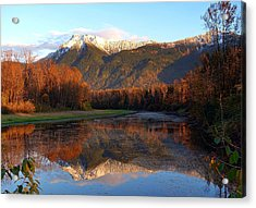 Mount Cheam, British Columbia Acrylic Print