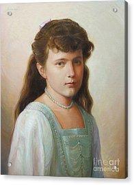 Grand Duchess Anastasia Nikolaevna Of Russia Acrylic Print by George Alexander