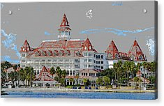 Grand Floridian In Summer Acrylic Print