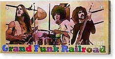 Grand Funk Railroad Acrylic Print