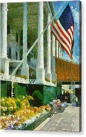 Grand Hotel Mackinac Island Acrylic Print