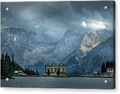Grand Hotel Misurina Acrylic Print