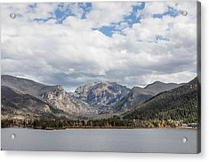 Acrylic Print featuring the photograph Grand Lake -- Largest Body Of Water In Colorado by Carol M Highsmith
