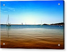 Grand Marais Harbor Acrylic Print