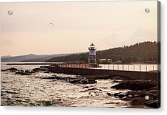 Acrylic Print featuring the photograph Grand Marais Shore by Whitney Leigh Carlson