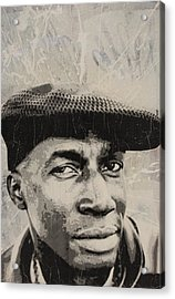 Grand Master Flash Acrylic Print by Dustin Spagnola