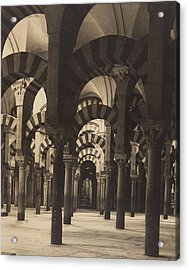 Grand Mosque Cordoba Acrylic Print by Claudi Carbonell