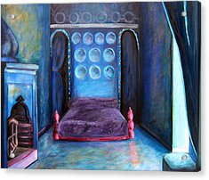 Grand Nap Acrylic Print by Rebecca Merola