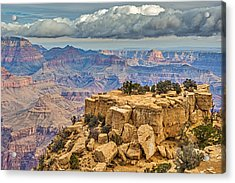 Grand Pedestal - Grand Canyon National Park Photograph Acrylic Print by Duane Miller