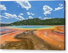 Grand Prismatic Acrylic Print by Alpha Wanderlust