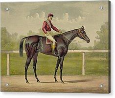 Grand Racer Kingston - Vintage Horse Racing Acrylic Print