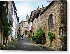 Grand Rue De L'horlogue In Cordes Sur Ciel Acrylic Print by RicardMN Photography