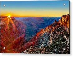 Grand Sunset Acrylic Print by Az Jackson