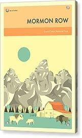 Grand Teton National Park - Mormon Row Acrylic Print