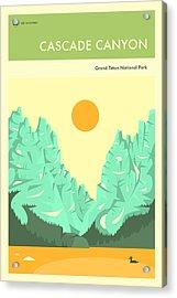 Grand Teton National Park Poster Acrylic Print