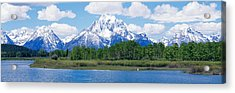 Grand Teton National Park Wy Acrylic Print by Panoramic Images