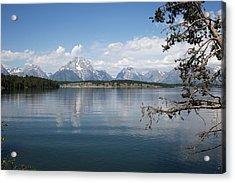 Grand Teton Range Acrylic Print
