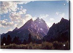 Grand Teton Acrylic Print by Scott Norris
