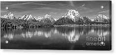 Grand Teton Tranquility Acrylic Print