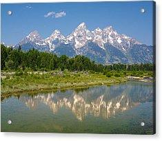 Grand Teton View Acrylic Print