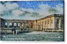Grand Trianon Acrylic Print by Aaron Stokes
