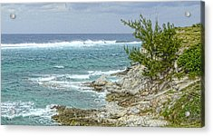 Acrylic Print featuring the photograph Grand Turk North Coast by Michael Flood