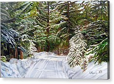 Grand View Drive Acrylic Print