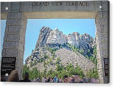 Grand View Acrylic Print by Mark Dunton