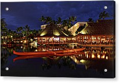 Grand Wailea Maui Acrylic Print by Pierre Leclerc Photography
