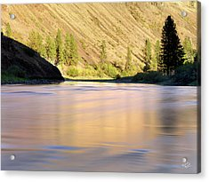 Grande Ronde River Acrylic Print by Leland D Howard