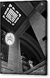 Grandeur At Grand Central Acrylic Print by James Aiken