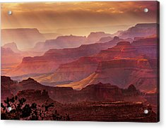Grandeur Acrylic Print by Mikes Nature