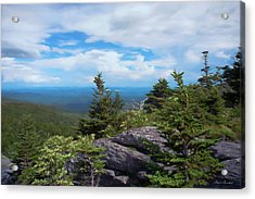 Grandfather Mountain Acrylic Print by Glenn Gemmell