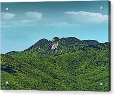 Grandfather Mountain, Nc Acrylic Print by Patricia Brock