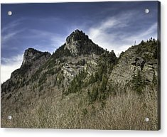 Grandfather Mt. Acrylic Print by Harry H Hicklin