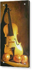Grandfathers Fiddle Acrylic Print