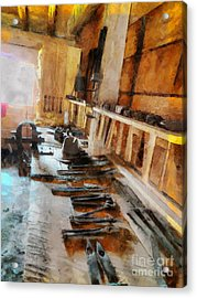 Grandfather's Tools Acrylic Print