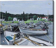 Grandfathers Wharf Acrylic Print
